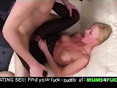 Mummy and son! Unbelievable going knuckle deep and ass-fuck fuck !