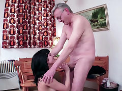 18yr old German Teenager Lure to Fuck by 71yr old Grand Father