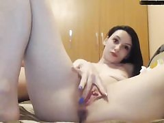 Cam first-timer couple having hardcore sex