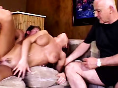 Swinger Housewife Nails Stranger For Husband Approval